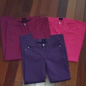 Bundle of 3 Colored Pants